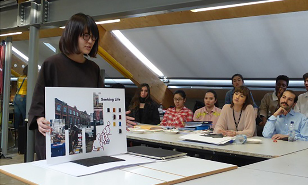 Stephen Walters & Sons collaborate with Central Saint Martins Weave Students